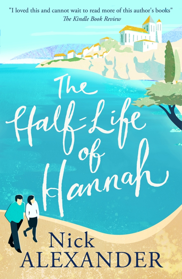 A brand new cover for The Half-Life of Hannah!